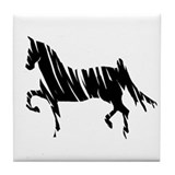 Saddlebred Horse Tile Coaster