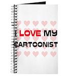 I Love My Cartoonist Journal