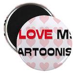 I Love My Cartoonist Magnet