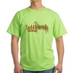 Saddlebred Horse Green T-Shirt