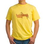 Saddlebred Horse Yellow T-Shirt