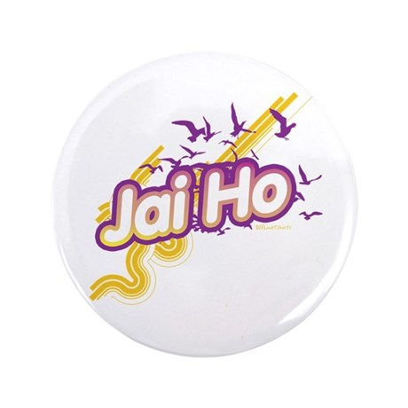 "Jai Ho 3.5"" Button"
