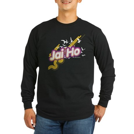 Jai Ho Long Sleeve Dark T-Shirt