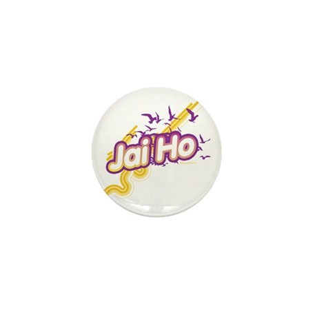 Jai Ho Mini Button (10 pack)