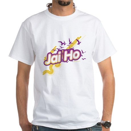Jai Ho White T-Shirt
