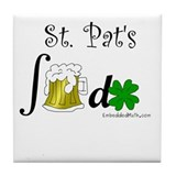 St. Pat's Beer Integral - Tile Coaster