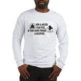 Spay & Neuter Fun! Long Sleeve T-Shirt