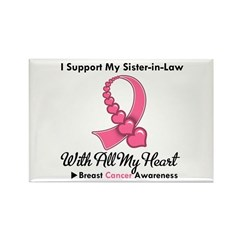 BreastCancerSister-in-Law Rectangle Magnet (100 pa