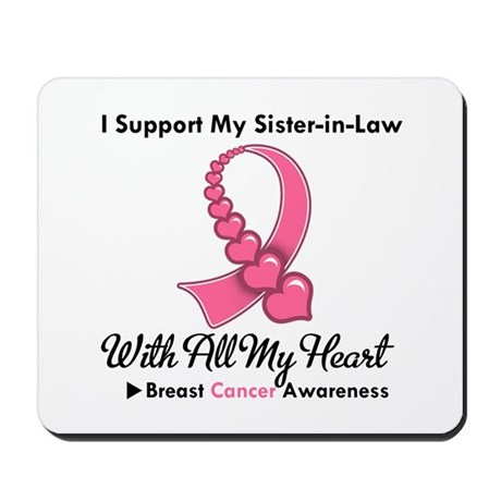 BreastCancerSister-in-Law Mousepad