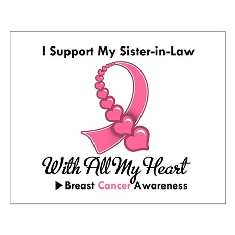 BreastCancerSister-in-Law Small Poster