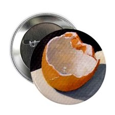 "Broken Egg Shell Artwork 2.25"" Button (10 pack)"