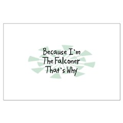 Because Falconer Posters