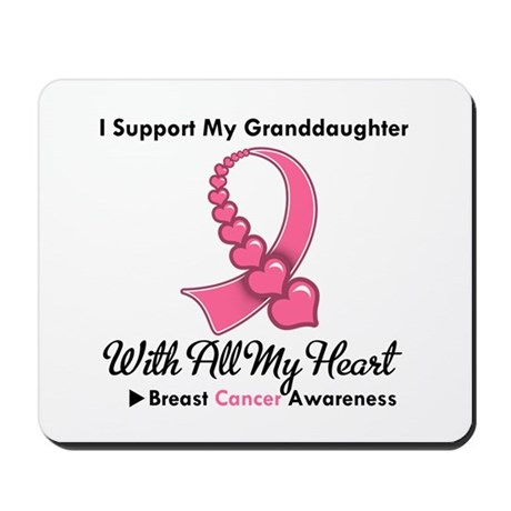 BreastCancerGranddaughter Mousepad
