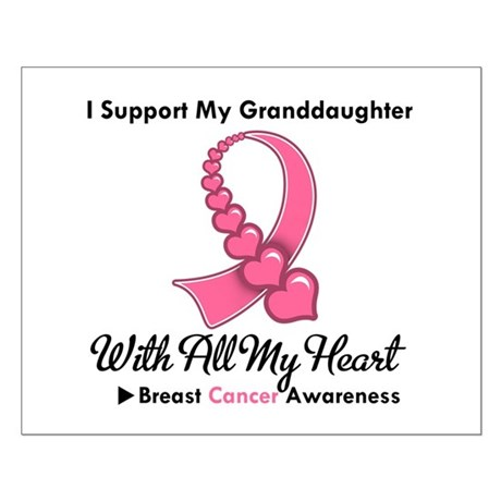 BreastCancerGranddaughter Small Poster