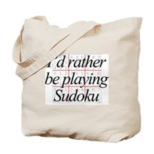 Rather Sudoku Tote Bag
