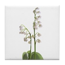 lily of Valley Tile Coaster