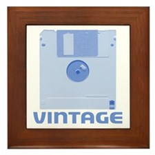 Vintage Floppy Framed Tile