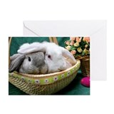 Easter Bunnies Greeting Card