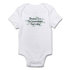 Because Cosmetologist Infant Bodysuit