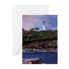 Two Lights Greeting Cards (Pk of 10)
