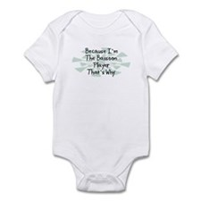 Because Bassoon Player Infant Bodysuit