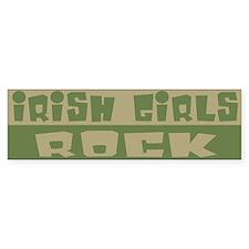 Irish Girls Rock Bumper Bumper Sticker