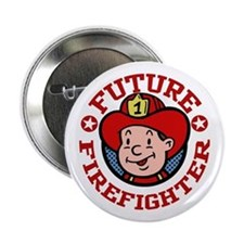 Future Firefighter Button