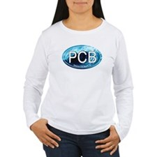 PCB Panama City Beach Oval T-Shirt