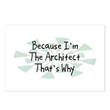 Because Architect Postcards (Package of 8)