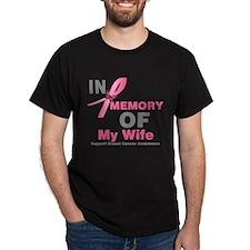 BreastCancerMemoryWife T-Shirt