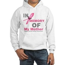 BreastCancerMemoryMother Hooded Sweatshirt