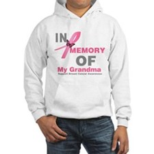 BreastCancerMemoryGrandma Hooded Sweatshirt