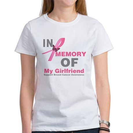 BreastCancerMemoryGirlfriend Women's T-Shirt