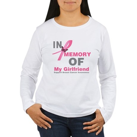 BreastCancerMemoryGirlfriend Women's Long Sleeve T