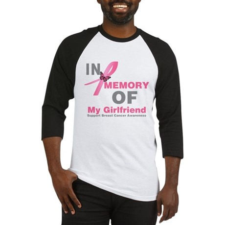 BreastCancerMemoryGirlfriend Baseball Jersey