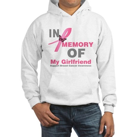 BreastCancerMemoryGirlfriend Hooded Sweatshirt