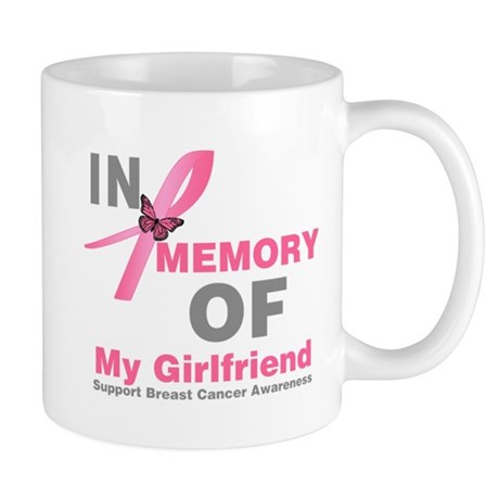 BreastCancerMemoryGirlfriend Mug