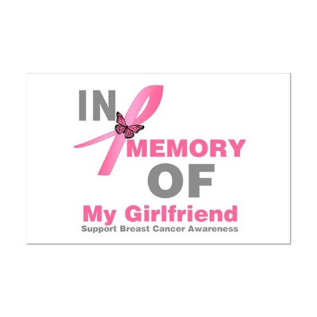BreastCancerMemoryGirlfriend Mini Poster Print