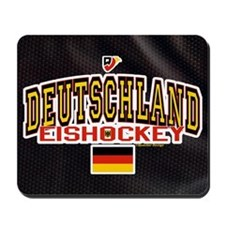 DE Germany Hockey Deutschland Mousepad
