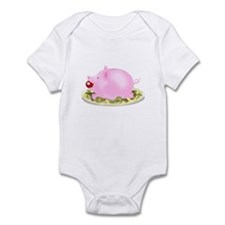 Suckling Piggy Bank Infant Bodysuit