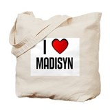 I LOVE MADISYN Tote Bag