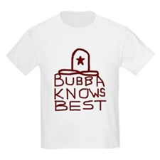 Bubba Knows Best Texas Cowboy T-Shirt