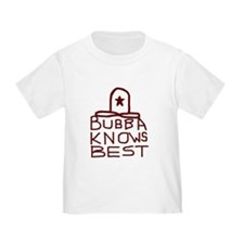 Bubba Knows Best Texas Cowboy T