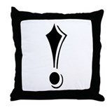"""Algerian - Symbol !"" Throw Pillow"