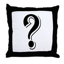 """Algerian - Symbol ?"" Throw Pillow"
