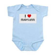 I LOVE MADELYNN Infant Creeper