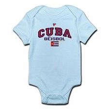 CU Cuba Baseball Beisbol Infant Bodysuit