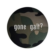 "gone galt 3.5"" Button (100 pack)"