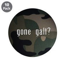 "gone galt 3.5"" Button (10 pack)"