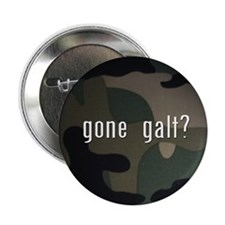 "gone galt 2.25"" Button (100 pack)"